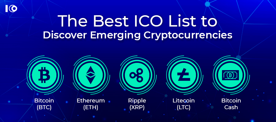 The Best ICO List to Discover Emerging Cryptocurrencies